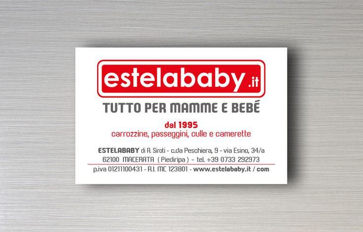 Estelababy - biglietto da visita