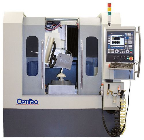(Posted from cncmachinings.com)  Check out these 5 axis machining cnc images: Optipro_5 axis optical grinding machine_FagorAutomation  Image by Fagor Automation OPTIPRO 5 axis optical grinding machine CNC 8070   Read more on http://www.cncmachinings.com/optipro_5-axis-optical-grinding-machine_fagorautomation/