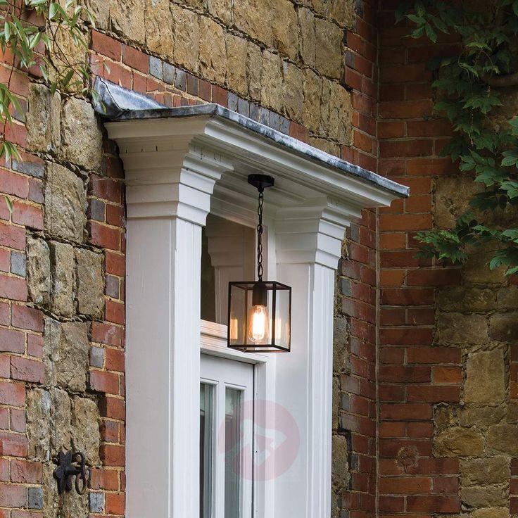 Lampada a sospensione da esterni Homefield Pendant stile british. Disponibile sul sito Lampade.it. Numero articolo: 1020501