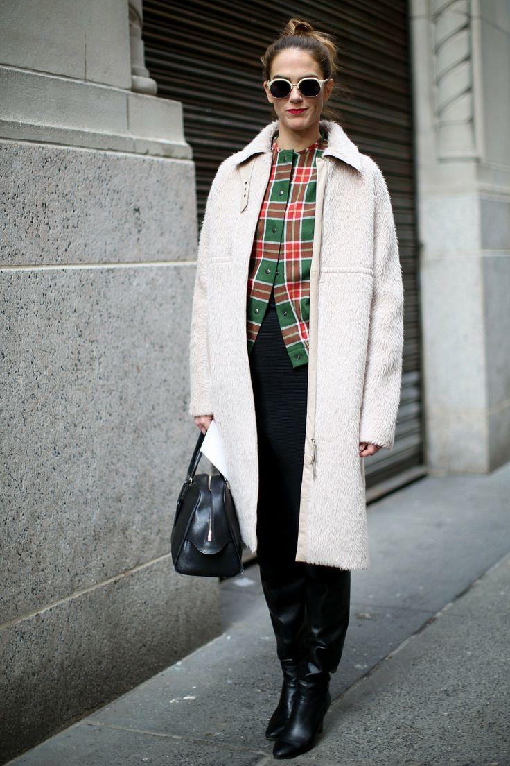 Street Style at New York Fashion Week #NYFW