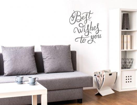 Wandgruss Auf Englisch Mit Liebevollem Gluckwunsch