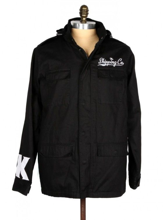 COMBAT JACKET – 100% cotton army jacket