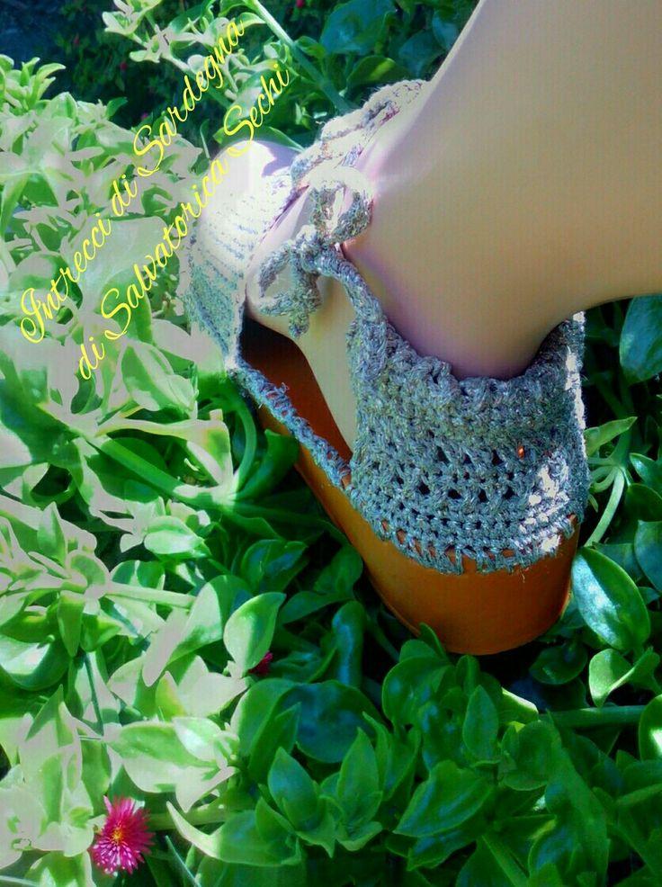 Crochet Sandal - Sandali ad uncinetto
