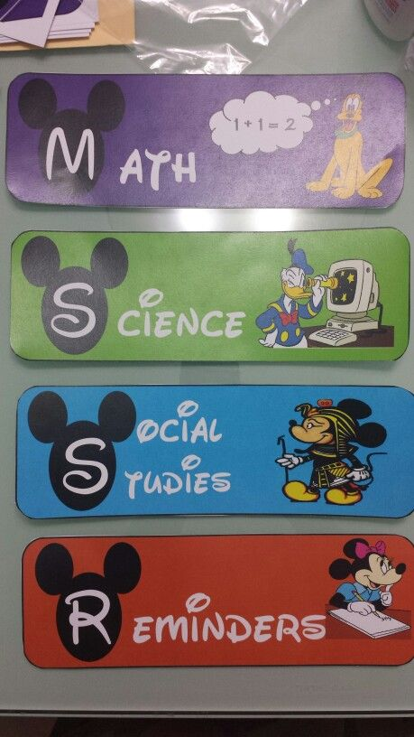 Mickey mouse clubhouse theme classroom. Can do something similar.