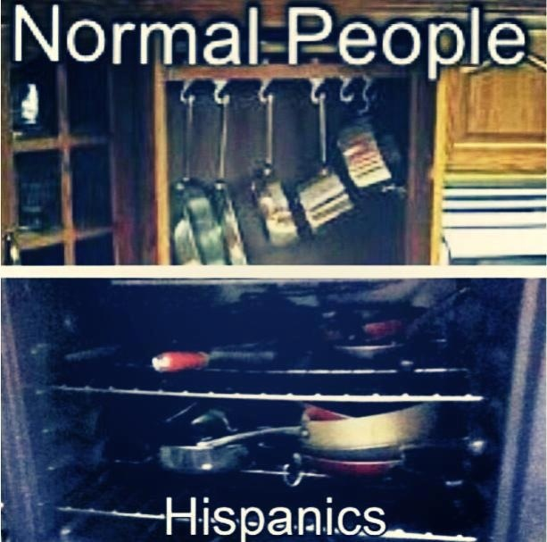 Hispanics be like... Lmaoo! Seriously this is me tho for real