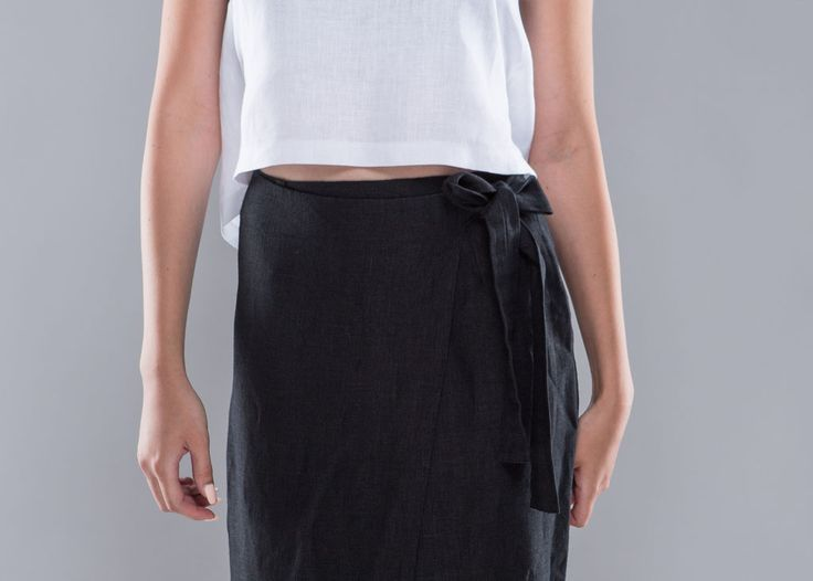 Wraped in comfort skirt