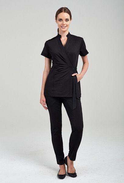 17 best images about salon design on pinterest for Spa worker uniform