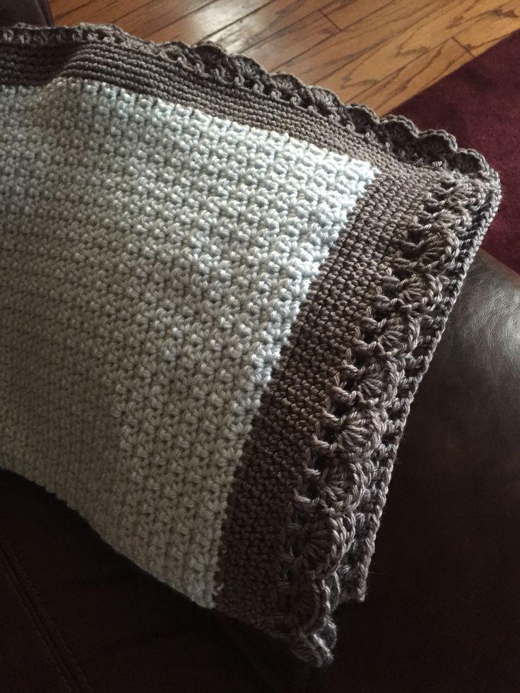 Tiramisu Baby Blanket Pattern On Ravelry 3 Skeins Bernat Satin In