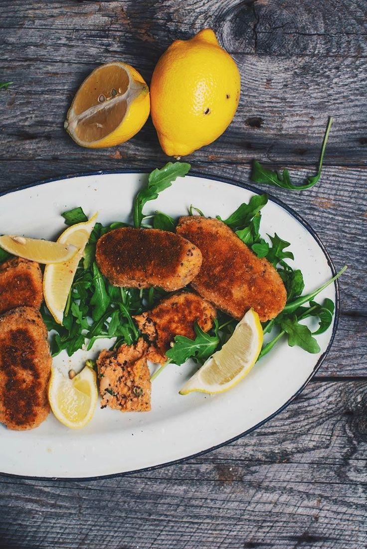 Salmon and Quinoa Croquettes | Natrel