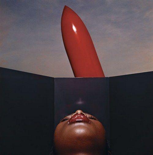 Dior Cosmetics, Vogue Paris 1972* by Guy Bourdin
