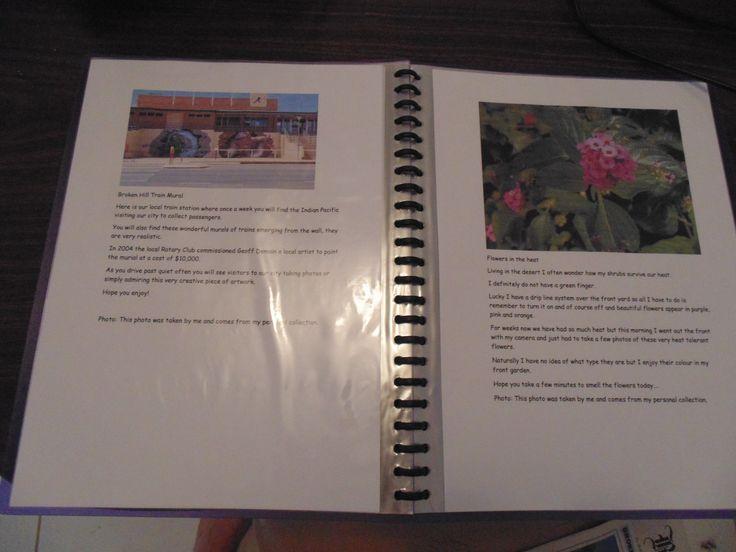 Hard Copy Portfolio! - Persona Paper