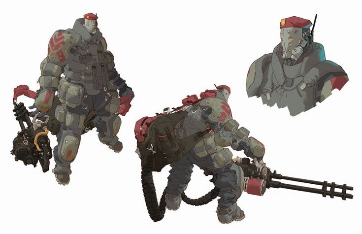 Clément Sauvé Concept Arts do game Army of Two