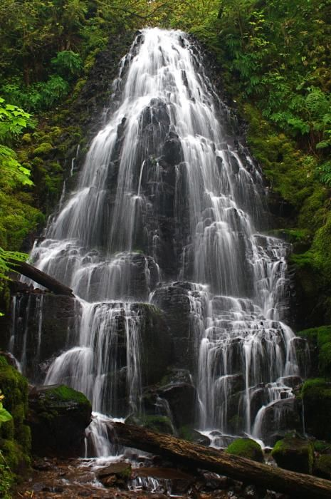 Fairy Falls, Oregon  waterfalls are my weakness, they invigorate me, and let's face it no one does waterfalls better than Oregon! ♥