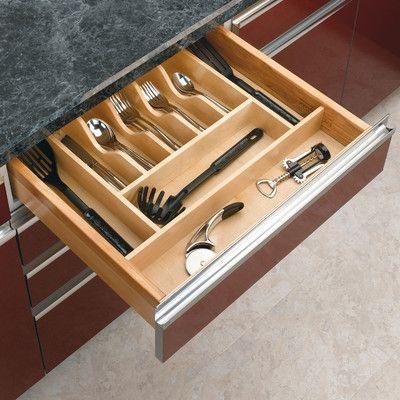 Rev-A-Shelf Short Cutlery Tray Insert