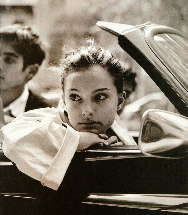 Natalie Portman in the mid-90s. I'm pretty sure this was for an Isaac Mizrahi ad campaign.