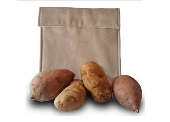 100% Cotton Microwave Potato Bag Awarded #1 New Release on Amazon.com