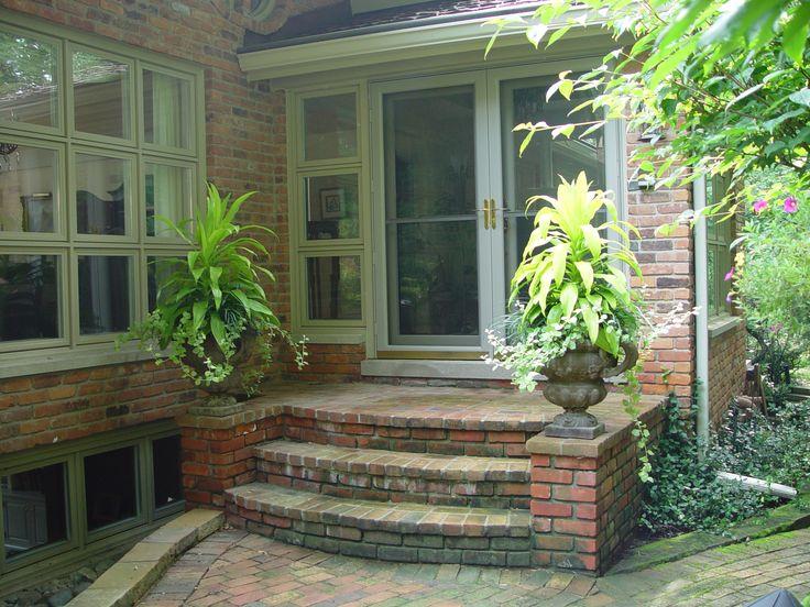 25 best ideas about brick steps on pinterest brick - Brick porch steps designs ...
