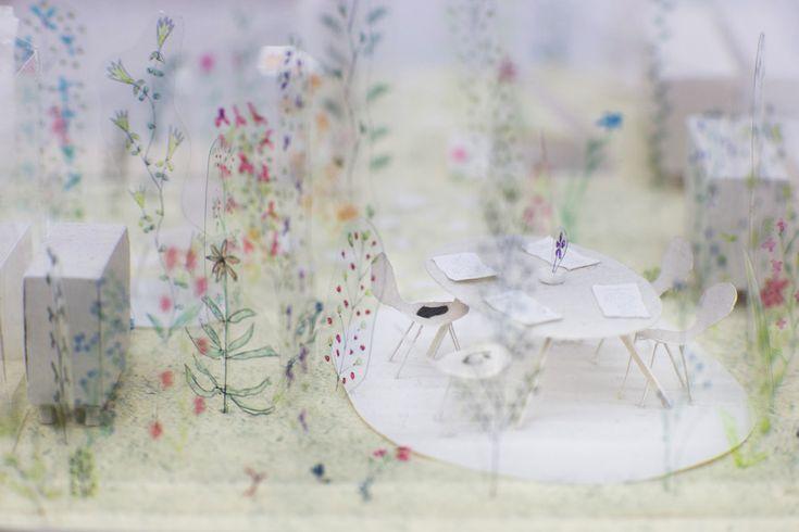 """""""Junya Ishigami: petit? grand? l'espace infini de l'architecture"""", arc en rêve, Bordeaux"""