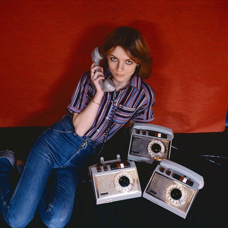 Warsaw, 1978. Phones, advertising photo, photo by Michał Browarski / Forum