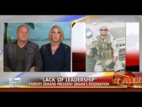 "• Gold Star Parents Demand Obama Resign • ""Cowardly Lack of Leadership"" • 9/2/14 • - YouTube"