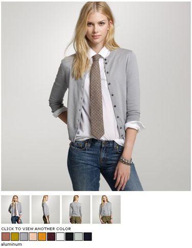j crew womens catalog necktie - Google Search