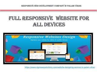 Website design company in Palam Vihar Gurgaon offer responsive website designing. Call top web design company in Gurgaon Palam Vihar for professional website designing.