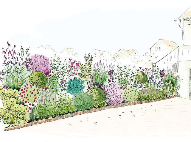 Un terrain en pente et en plein soleil est souvent la « bête noire » du jardinier qui n'a pas...