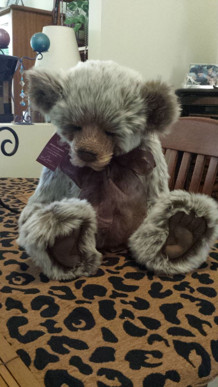 "Charlie Bear ""William 4th"""