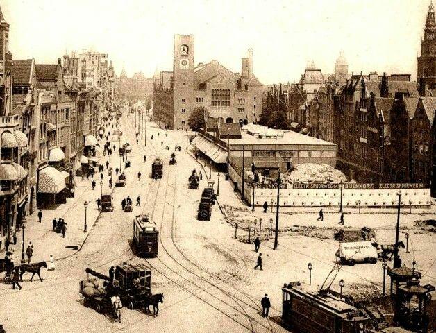 Amsterdam, Damrak, Sloop Zocher