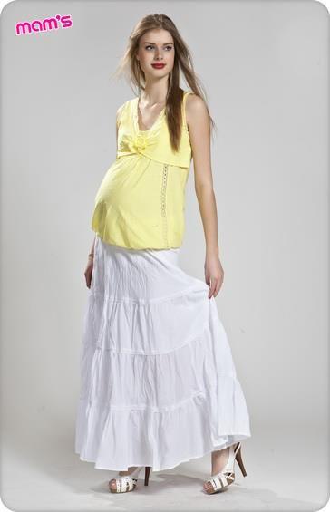 Длинная юбка для беременных москва