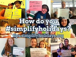 How do you simplify holidays? Great inspiration for those who feel alone in the desire to simplify around the holidays.