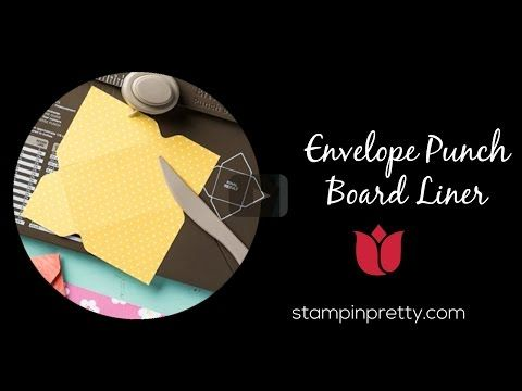 Envelope Punch Board Stampin' Up with Catherine Pooler - YouTube