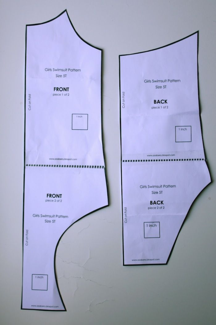 bathingsuit , free patterns and instructions