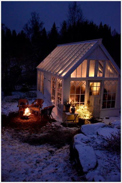 in de winter lekker warm en gezellig binnen :-)
