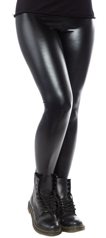 QUEEN OF DARKNESS LEATHER LOOK LEGGINGS $22.00 #queenofdarkness #goth #leggings
