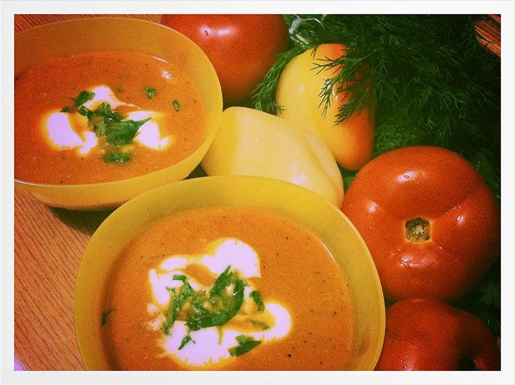 Day 27 – Creamy Roasted Tomato soup  www.TeoInPixeLand.ro Photography