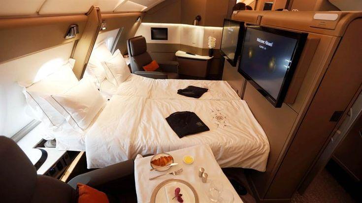 Video: las lujosas suites del A380 de Singapur Airlines - LA NACION (Argentina)