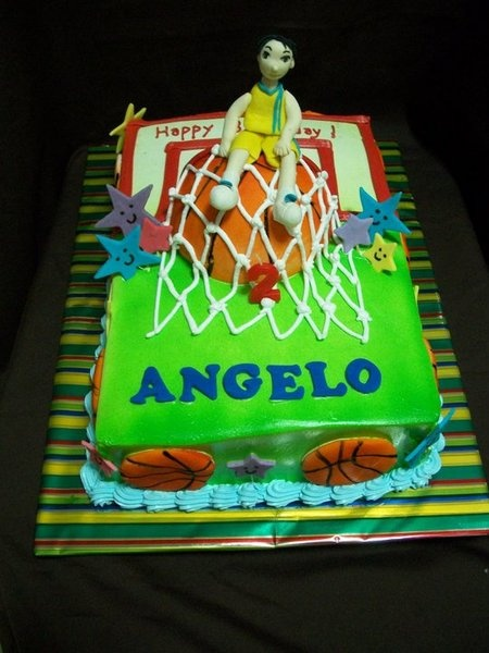 17 Best Images About Basketball Cake On Pinterest