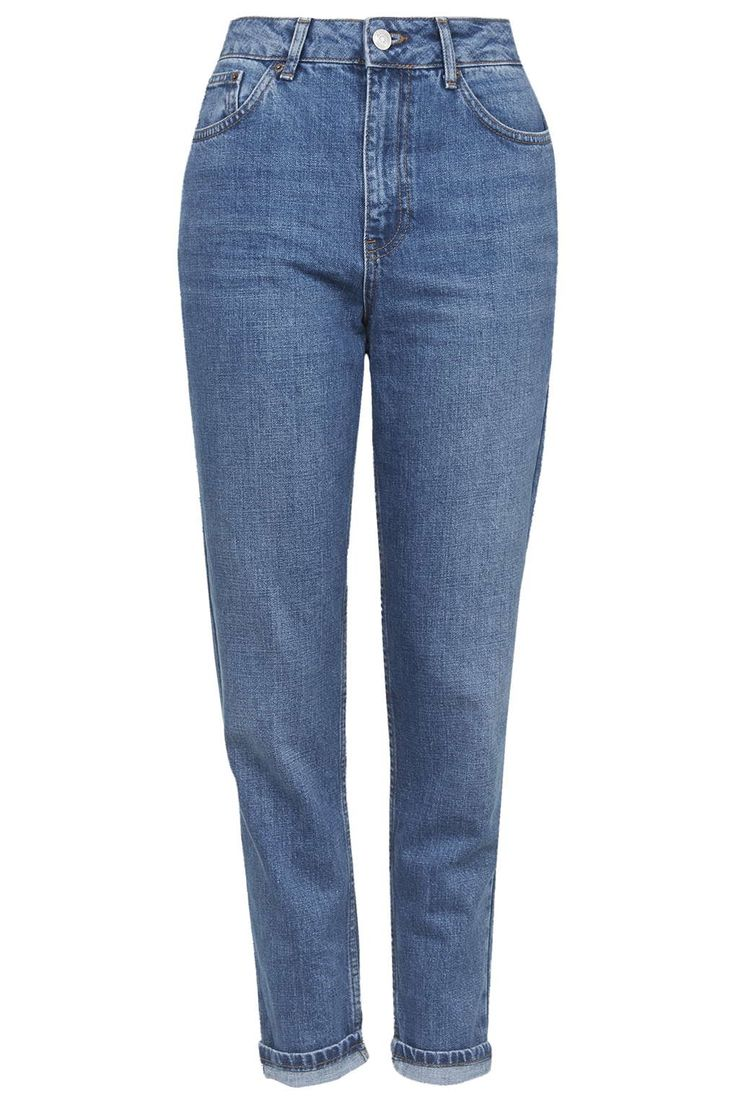 Photo 1 of MOTO Authentic Blue Mom Jeans