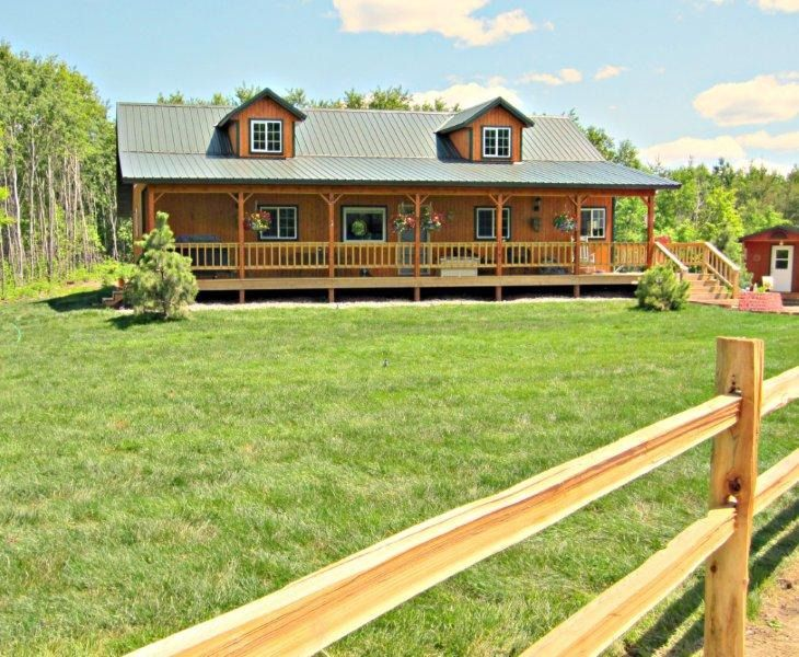 62 best images about pole barn home on pinterest for Log pole barn