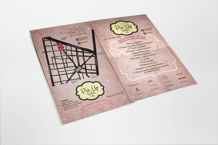 Diseño Publicitario - Stop Diseño Gráfico - Diseño de Flyer - Pin Up Salón