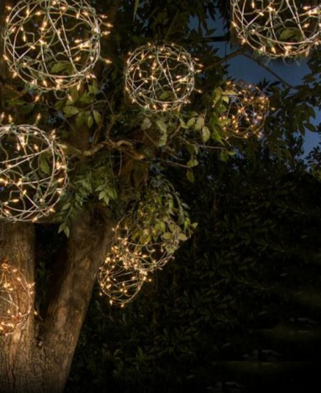 These projects let you enjoy the cozy glow of string lights long after Christmas is over.: DIY Light Globes