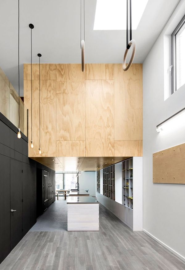 In Suspension Athletic House By Naturehumaine Interior Design MagazineInterior BlogsMontreal