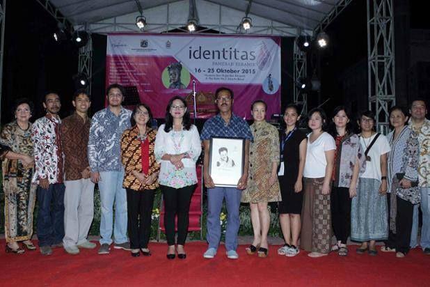 Pameran Keramik Identitas Peresmian pembukaan #PameranKeramikID 16 Oktober 2016