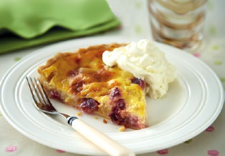 Peach and Plum Tart #recipe #SweetTreats | Puddings | Pinterest