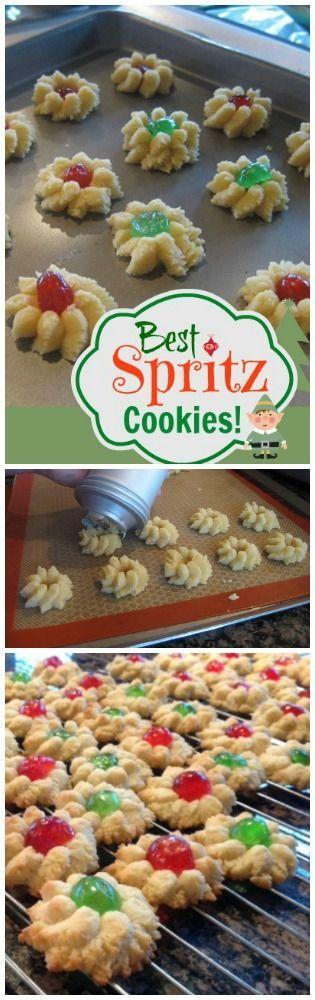 Spritz Cookies                                                                                                                                                                                 More