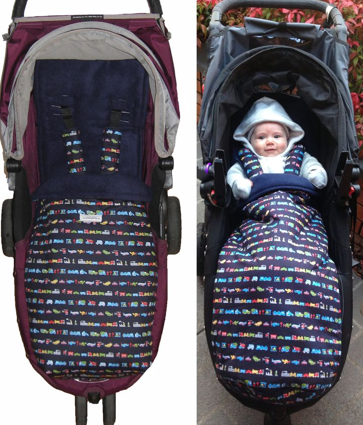 Baby Jogger Cars Navy Snuggle Bag: In my shop and in action!