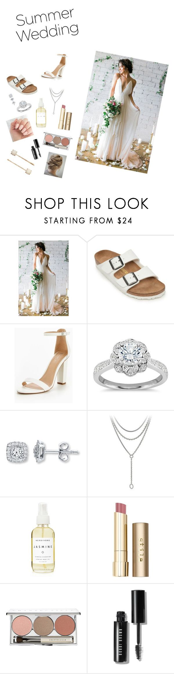 """Summer loven"" by nmp456 ❤ liked on Polyvore featuring Birkenstock, Zac Posen, David Yurman, A Weathered Penny, Stila, Chantecaille, Bobbi Brown Cosmetics and LC Lauren Conrad"
