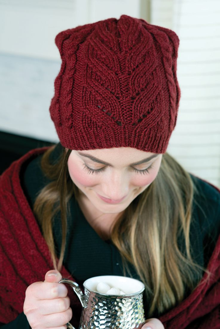 Best 130 Knitted Hats images on Pinterest