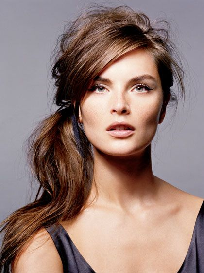 The 7 Best Ponytail Hairstyles: Hair Ideas: allure.com Love this side ponytail